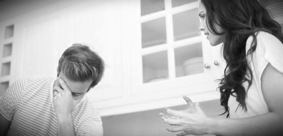 Woman Frustrated With Husband