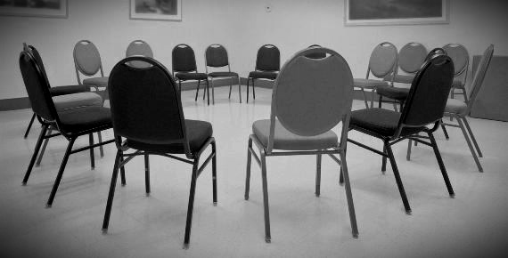 Room With Chairs in a Circle